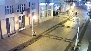 Уеб камера от Габрово - централната пешеходна улица.