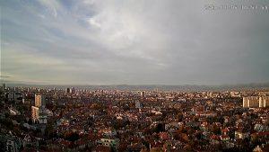 Подвижна уеб камера с 360° панорама към София от кв. Лозенец