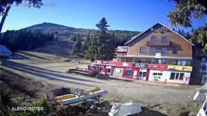 Уеб камери от Витоша - хижа Алеко на живо