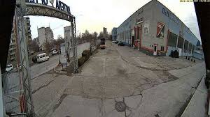 """Уеб камера от Пловдив - квартал """"Тракия"""", Автосервиз """"Оптела"""""""