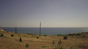 Уеб камера от района на Каварна - с. Божурец с панорама към Черно море