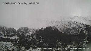 Уеб камера от хижа 'Вихрен' в Пирин планина 1950 м.н.в.