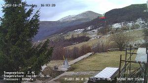 Уеб камера от хижа 'Тъжа' на Изток от връх Ботев в Стара Планина.