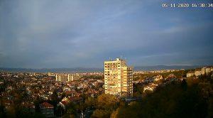 Уеб камера от София - панорама от квартал Лозенец