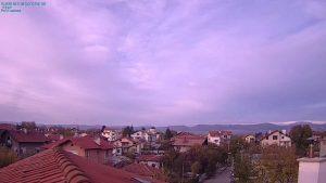 Уеб камера от Казичене с панорама към Балкана