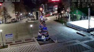 Уеб камера от Велинград - площад Николай Гяуров на 750 м.н.в.