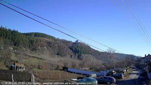 Уеб камера от Костенец с панорамен поглед на североизток към Западна Средна гора на 504 м.н.в.