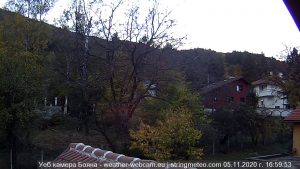 Уеб камера от кв. Бояна - София