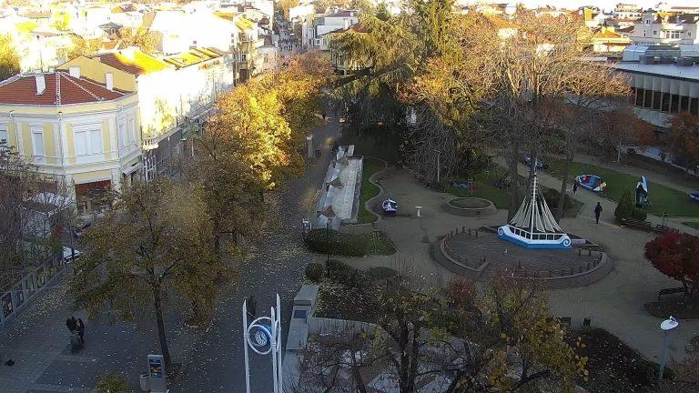 Уеб камера от Бургас - центъра до общината live sreaming