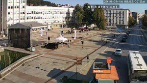 Уеб камера от центъра на Габрово.
