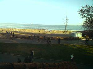 Уеб камера от Бургас - плажната ивица при уиндсърф клуб
