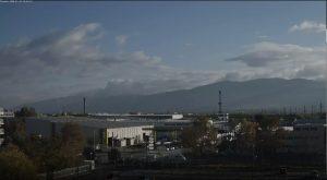 Уеб камера от Пловдив - панорама към Родопите.