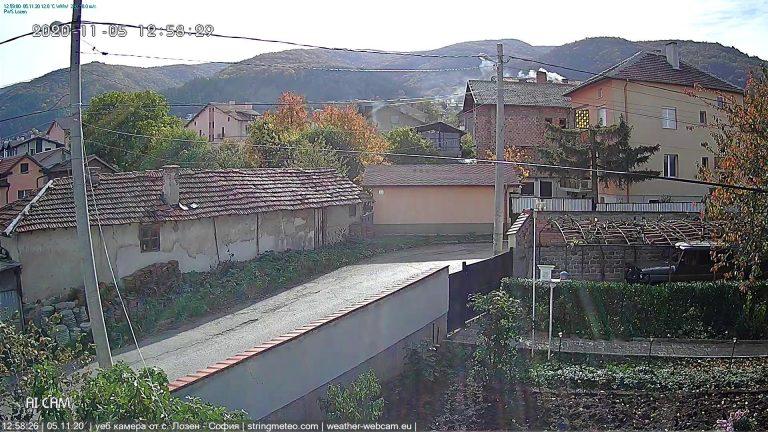 Уеб камера от с. Лозен - София.