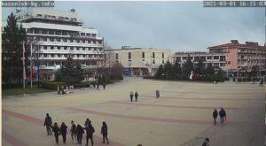 Уеб камера от Казанлък - център