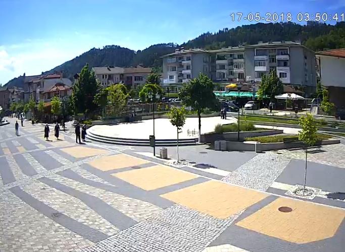 Уеб камера от Неделино в близост до Златоград в Родопите