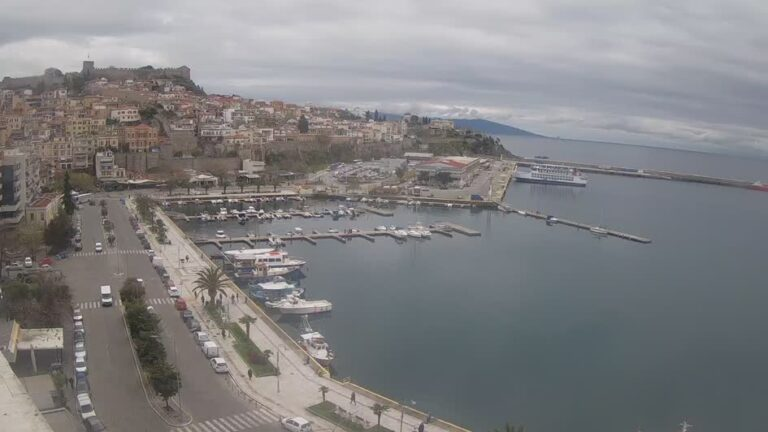 Уеб камера от Кавала, Егейска Македония, Гърция