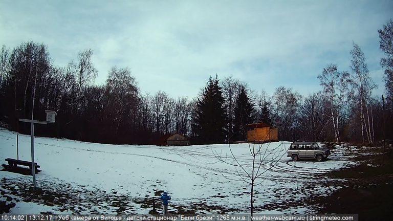 Уеб камера от Витоша - детски екостационар 'Бели брези' на 1260м