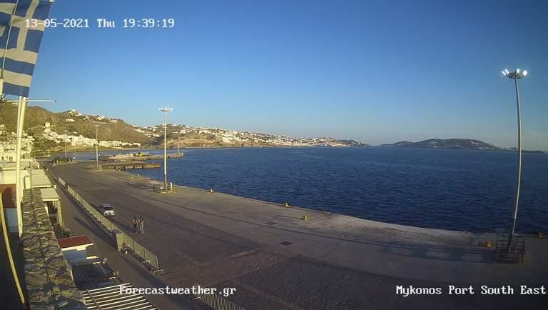 Уеб камери от Миконос - остров в Егейско море, Гърция
