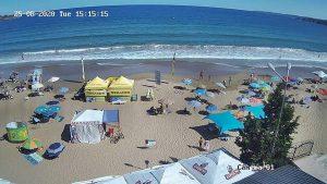Уеб камера от Каваци, Созопол, Южното Черноморие, Югоизточна България.