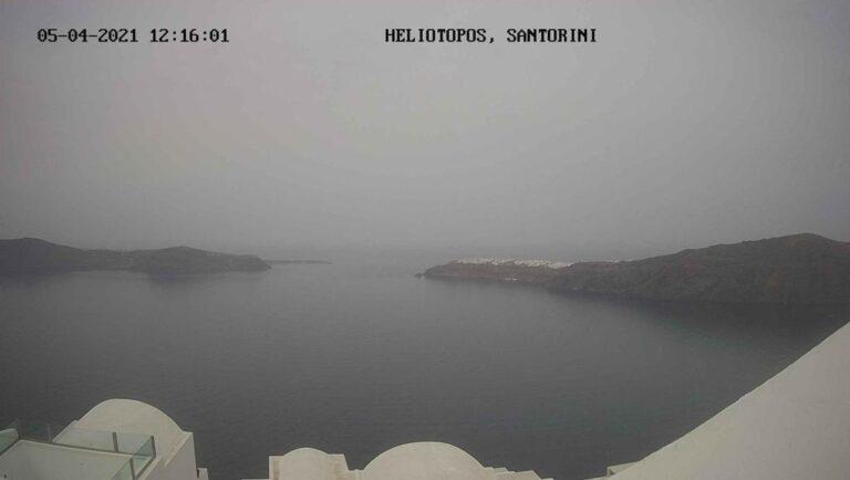 Уеб камера от Санторини - Firostefani, Thira, Гърция