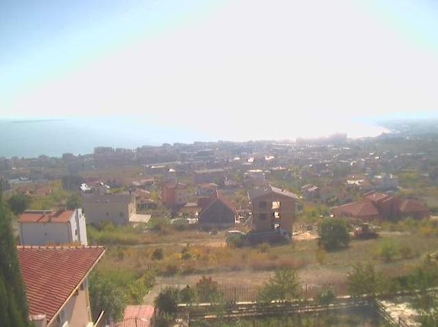 Уеб камера от Свети Влас - панорама към Черно море.