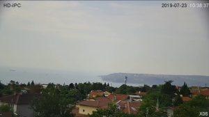 Панорамна подвижна уеб камера от Варна с панорама към Черно море