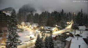 Уеб камери от Боровец, панорама от хотел Ела, 1320м