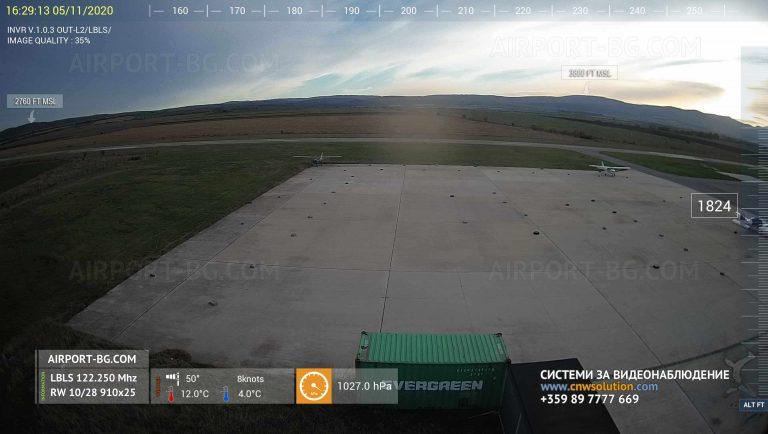 Уеб камера от София – летище Лесново.