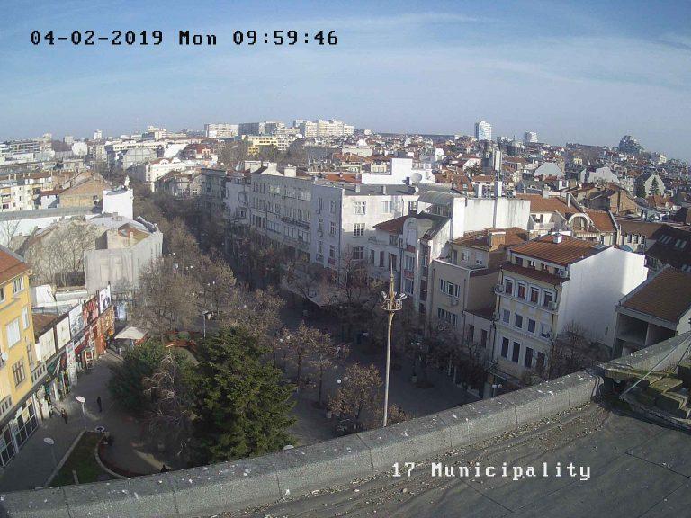 Уеб камера от община Бургас - панорама