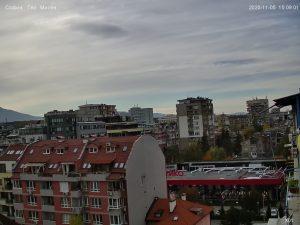 Подвижна уеб камера от София, панорамна от кв. Гео Милев