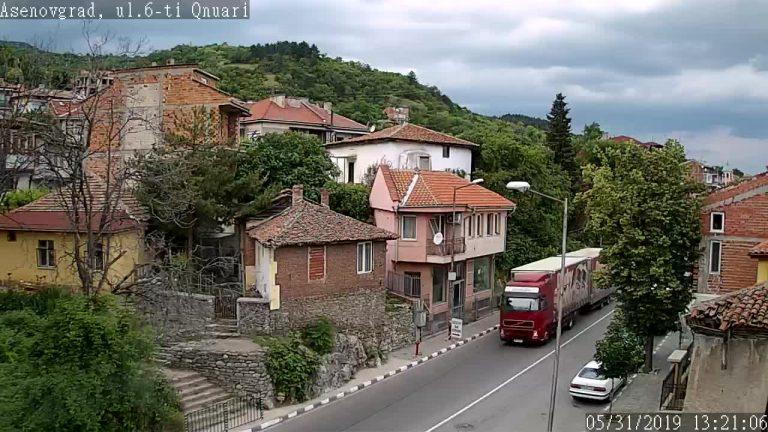Уеб камера от Асеновград - на живо гледате път II-86 Пловдив - Смолян