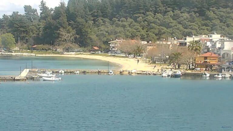 Уеб камера от остров Тасос