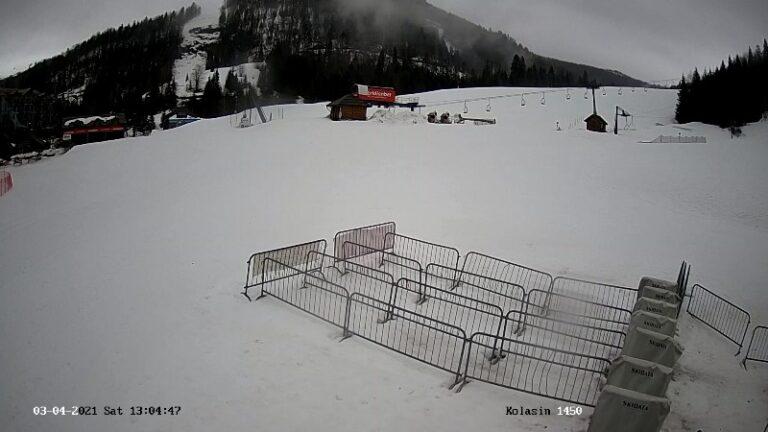 Уеб камери от ски курорт 'Колашин 1450'