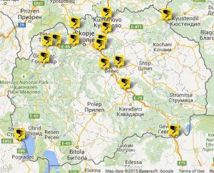 Всички онлайн уеб камери от Македония на живо