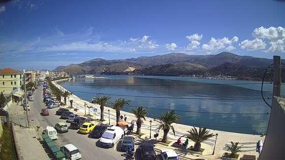 Уеб камера от остров Кефалония, Йонийско море, Гърция