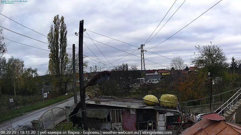 Уеб камера Варна - в.з. Боровец