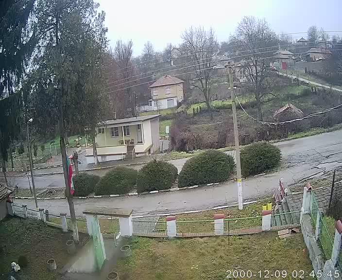 Уеб камера от Байково - село между Разград и Шумен на 400 м.н.в.