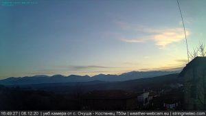 Уеб камери от с. Очуша, Костенец на 750 м.