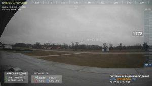 """Уеб камера от Долна Баня - летище """"Долна Баня"""""""
