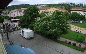 Уеб камера от Трявна - парка пред градския съд
