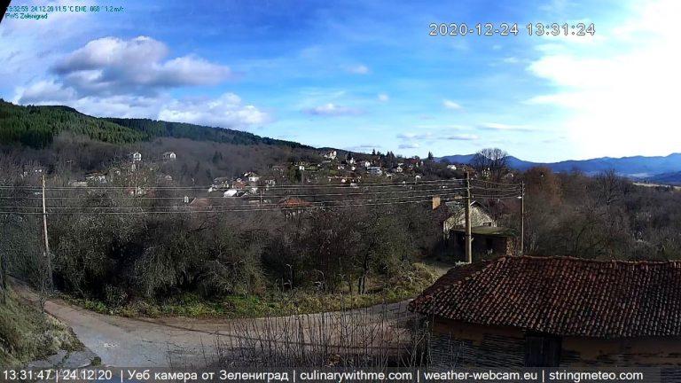 Уеб камера Зелениград - село в Западните покрайнини между Трън и ГКПП Стрезимировци