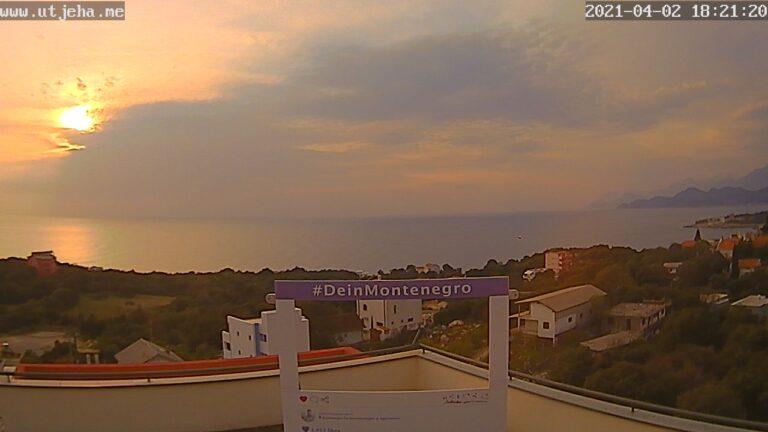 Уеб камера от Utjeha , Черна Гора