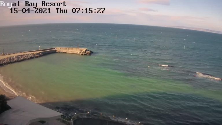 Уеб камера от Плаж Икантълъка между Каварна и Балчик