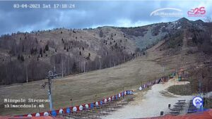 Уеб камера от Нижеполе - ски център в Баба планина, Македония