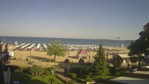 Уеб камера от Слънчев Бряг с панорамен поглед към Черно море