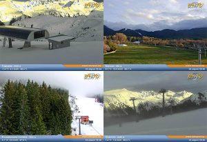 Уеб камери от Банско на живо ➝ следете времето и пистите