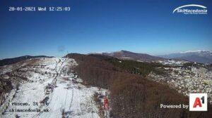 Уеб камера от Станич - ски център над гр. Крушево на 1349 м.н.в.