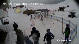 Уеб камера от Синая - град и ски курорт в Карпатите
