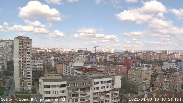 Уеб камера от София - Зона б-5