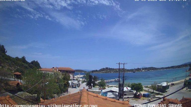 Уеб камери от Ситония, Халкидики, Гърция на живо